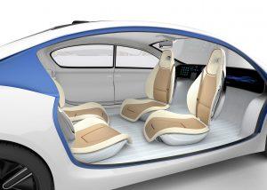 自動運転車の室内イメージ