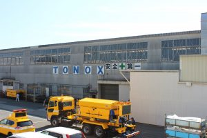 散水車(トノックス工場にて製造)