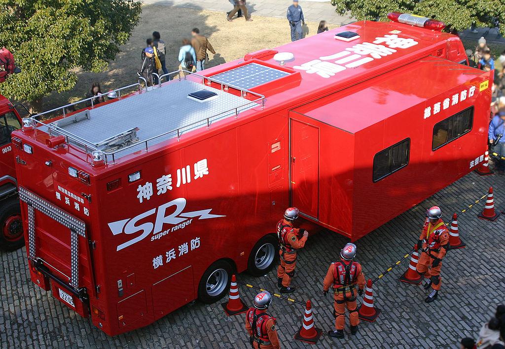 ⽀援⾞I 型⽇野・プロフィア -横浜市消防局-