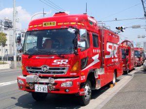 特別⾼度救助部隊 スーパーレンジャー ハイルーフ型 横浜市消防局III型