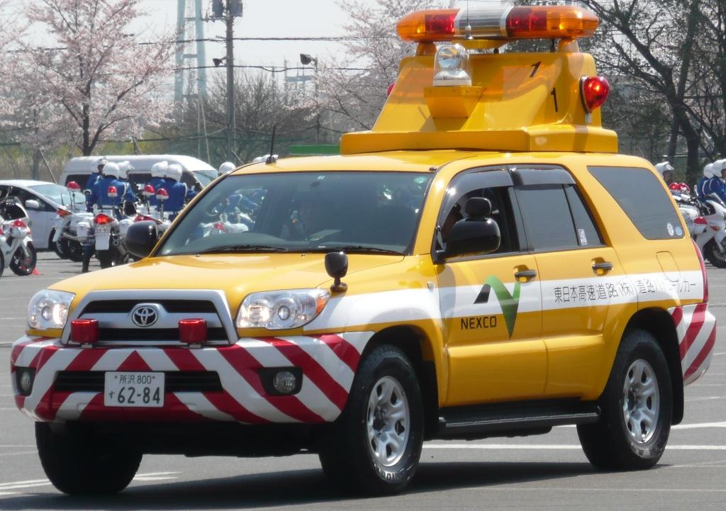 NEXCO東⽇本の道路パトロールカー