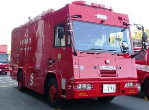 特殊災害対策⾞(⼤型)東京消防庁第三⽅⾯本部CS1