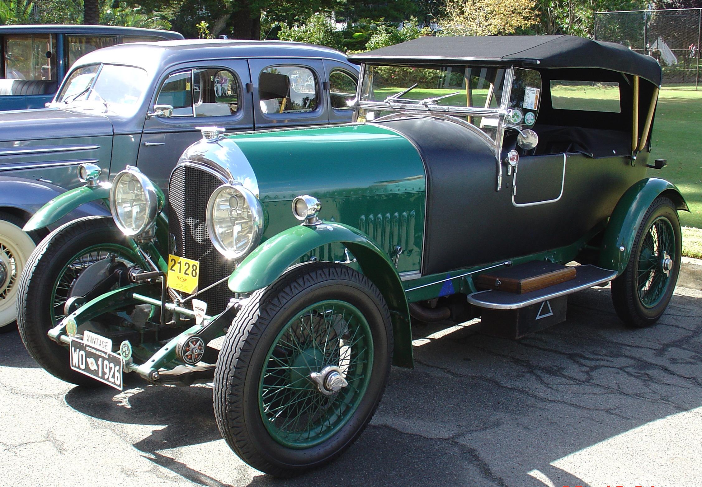 1920年代のイギリス車「ベントレー(1926年)」