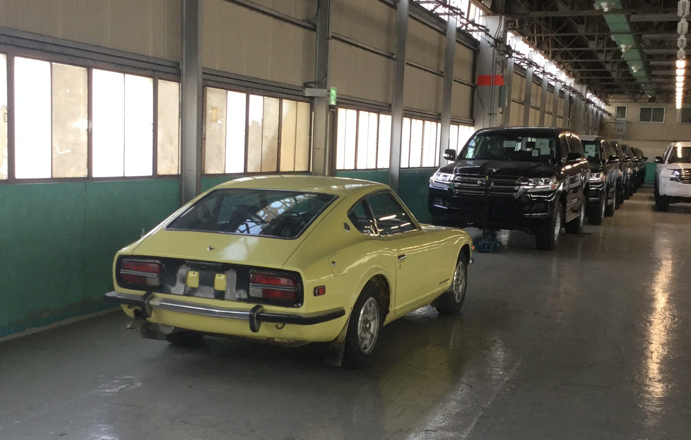 クラシックカー( トノックス工場より)