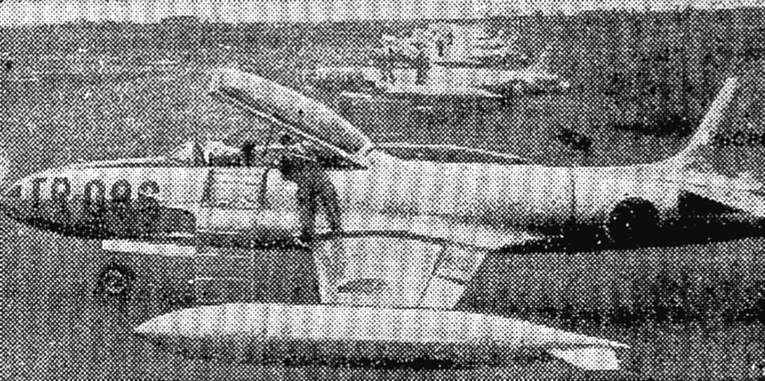 黎明期の航空自衛隊ジェット機