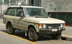 イギリス・ランドローバー社が生産している高級オールパーパスフルタイム4WD車「ランドローバー・レンジローバー:Range Rover」(Wikipediaより)